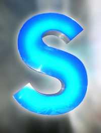 Фото: Объемные буквы с внутренней подсветкой