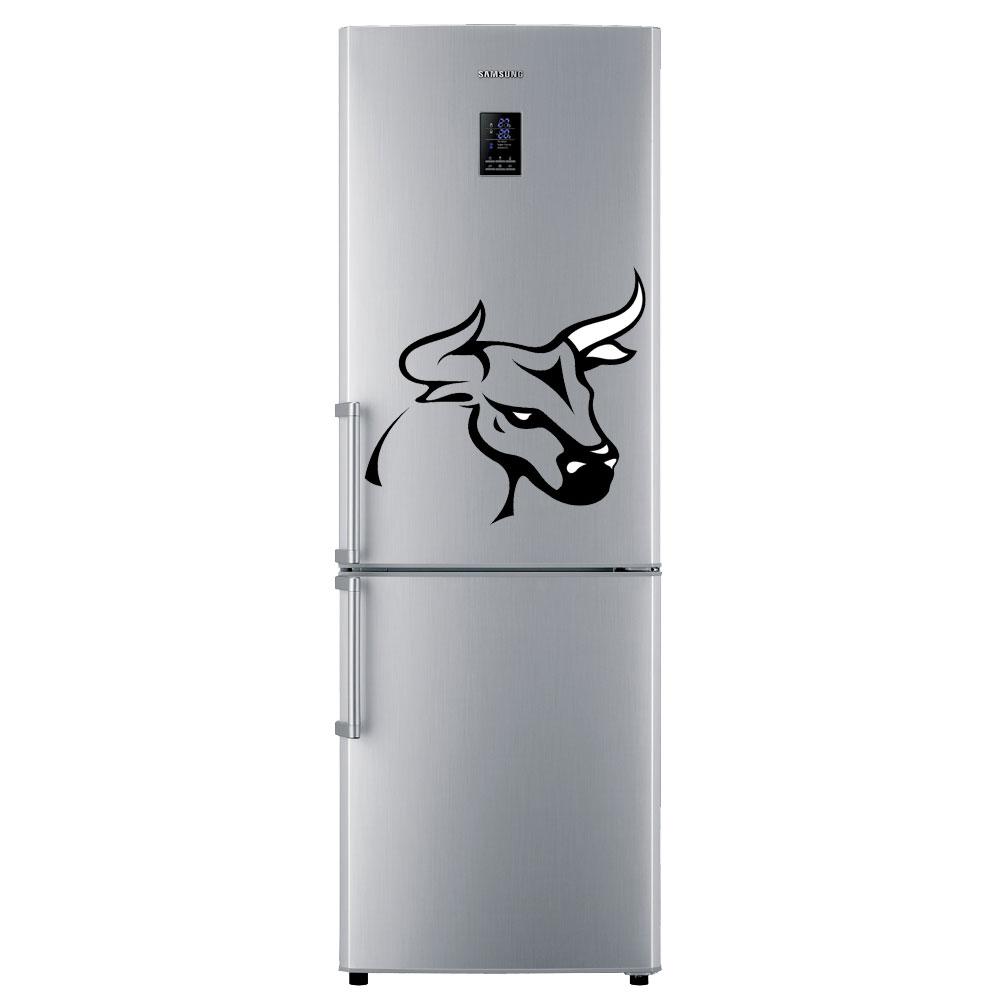 наклейки на холодильник в большом расширении