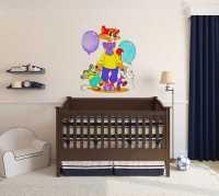 Фото: Виниловые наклейки для детской Кот Леопольд