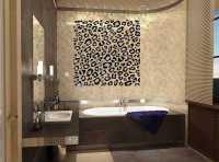 Виниловая наклейка для ванной 'Гламур'