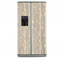 Фото: Виниловые наклейки на холодильник типа Side by side Гармония