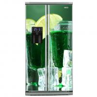 Фото: Виниловые наклейки на холодильник типа Side by side Коктейли