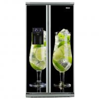Фото: Виниловые наклейки на холодильник типа Side by side