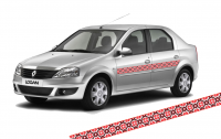 Фото: Автовышиванка украинский орнамент для Вашего авто
