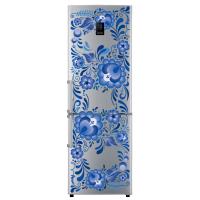 Фото: Наклейки для холодильника Гжель