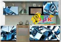 Фото: Виниловые наклейки Декоративные наклейки Наклейки на кухню Наклейки на мебель Абстракция