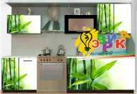 Фото: Наклейки на кухонную мебель Бамбук