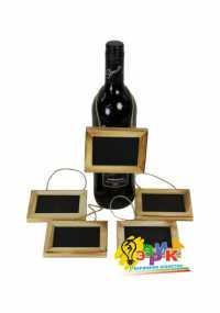 Фото: Грифельный ценник в рамке (ценник для письма мелом)