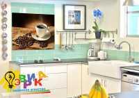 Фото: Наклейки на плитку Кофе