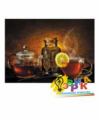 """Наклейки рекламные """"Фруктовый чай"""", заварной чай"""