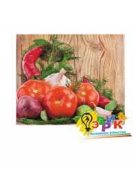 """Фото: Наклейка рекламная """"Свежие овощи"""", наклейки для продуктового магазина"""