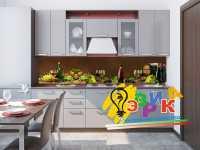 Фото: Кухонные скинали Винная кладовая