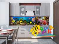 Фото: Кухонные скинали Водный мир