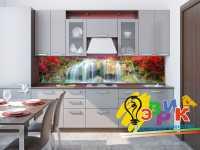 Фото: Кухонные скинали Водопад