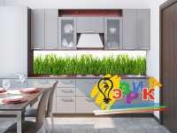 Фото: Кухонные скинали Сочная трава