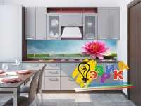 Фото: Кухонные скинали Лотос