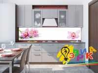Фото: Кухонные скинали Орхидея