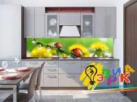 Фото: Дизайнерские фартуки для кухни Гармония