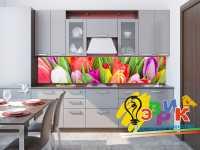 Фото: Кухонные фартуки Тюльпаны