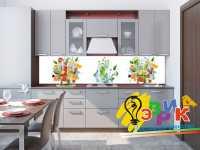 Фото: Дизайнерские фартуки для кухни Фруктовый рай