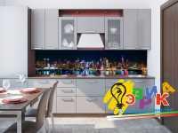 Фото: Дизайнерские фартуки для кухни Хайтек