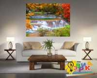 Фото: Картины на холсте Водопад