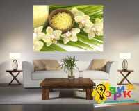 Фото: Картины на холсте Ветка орхидеи