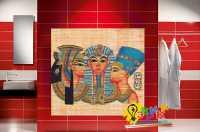 Фото: Стеновые панели в ванную Египет