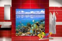 Фото: Стеновые панели в ванную Рыбки