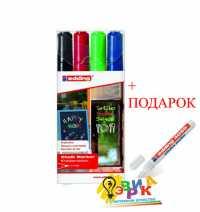 Фото: Меловые маркеры цветные комплект
