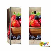 Фото: Наклейки на холодильник Сочные фрукты