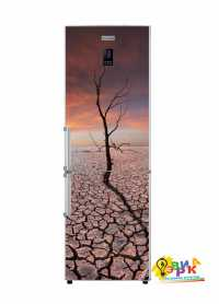 Фото: Наклейки на холодильник в стиле Лофт