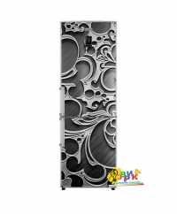 Фото: Дизайнерские наклейки на холодильник 3Д