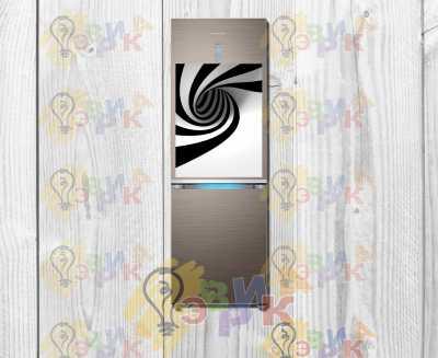 Фото: Магниты на холодильник виниловые Абстракция