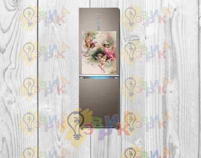 Фото: Магниты на холодильник виниловые Ангелочки