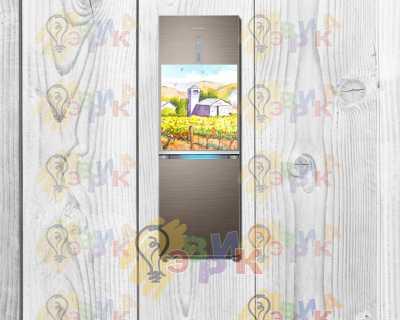 Фото: Магниты на холодильник виниловые Арт 50х60 см