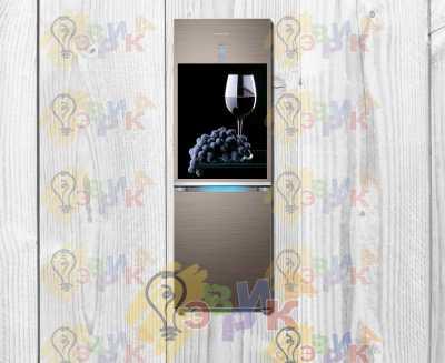 Фото: Магниты на холодильник виниловые Вино