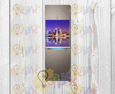 Фото: Магниты на холодильник виниловые Город