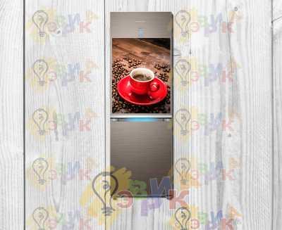 Фото: Магниты на холодильник виниловые Кофе