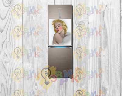Фото: Магниты на холодильник виниловые Монро