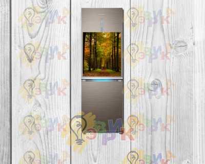 Фото: Магниты на холодильник виниловые Перспектива