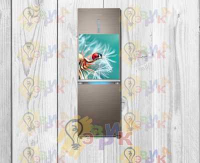 Фото: Виниловый магнит на холодильник - Позитив 50х60 см