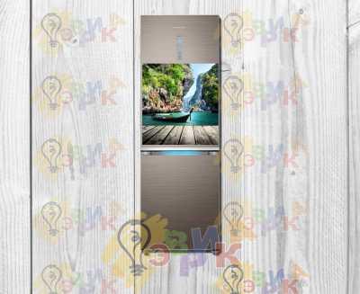 Фото: Гибкий виниловый магнит на холодильни Сказка 50х60 см
