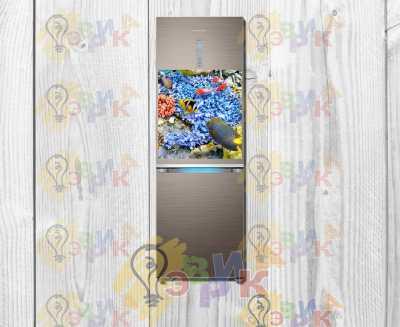 Фото: Магниты на холодильник виниловые Рыбки