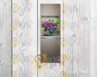 Фото: Магниты на холодильник виниловые Сирень