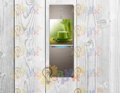 "Фото: Виниловый магнит для холодильника ""Уют"" 50х60"