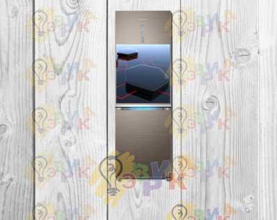 Фото: Магниты на холодильник виниловые Хайтек