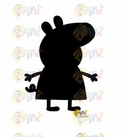 Фото: Меловая доска Свинка Пэпа