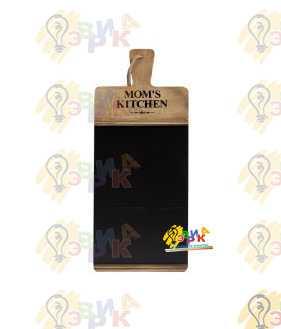 Фото: Меловая доска под логотип фигурная