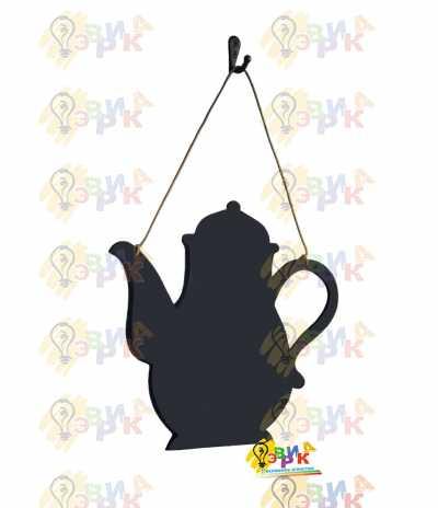 Фото: Меловая доска премиум Чайник на канате